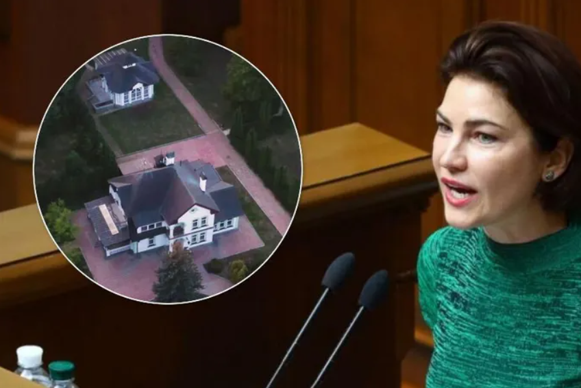 Венедиктова не доплачивает за госдачу не менее 152 тыс. гривен в месяц – «Схемы»