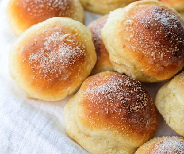 Простые и быстрые творожные булочки к завтраку! Бездрожжевое тесто за 5 минут