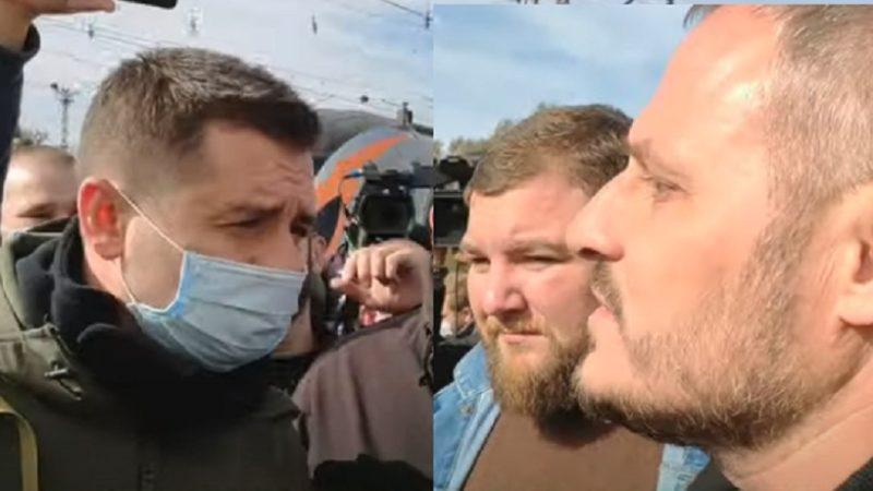 Арахамія аж зблід! Воїни на Донбасі влаштували «Слугам» «теплий» прийом! (ВІДЕО)