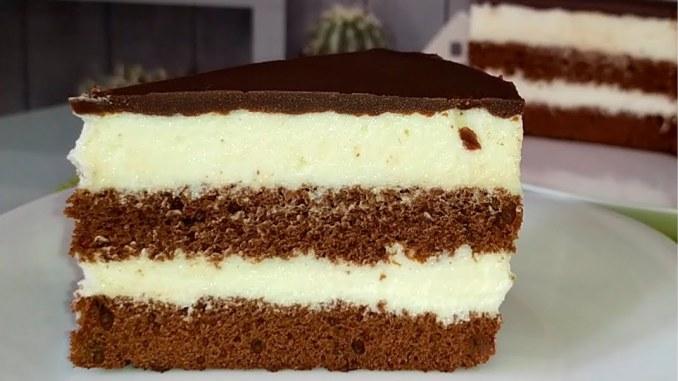 """Як приготувати торт """"Мілка"""". Смакує так само, як і знаменитий батончик. Дуже смачний та ніжний!"""