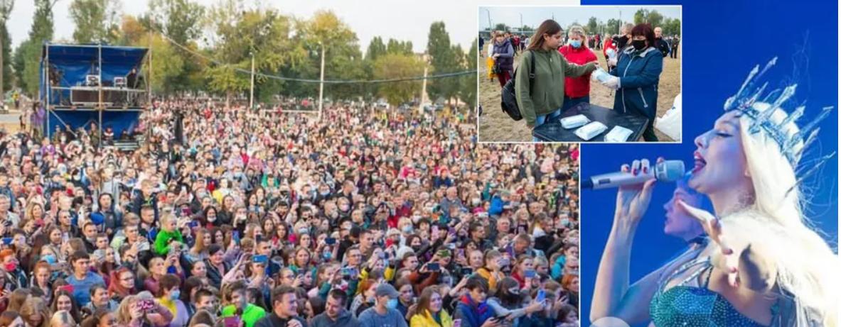 Полякова выступила Харькове в разгар пандемии: чем ей это грозит?