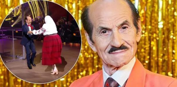 90-річний Чапкіс пустився в танок із мамою Сердючки на «Танцях з зірками» і викликав фурор у мережі
