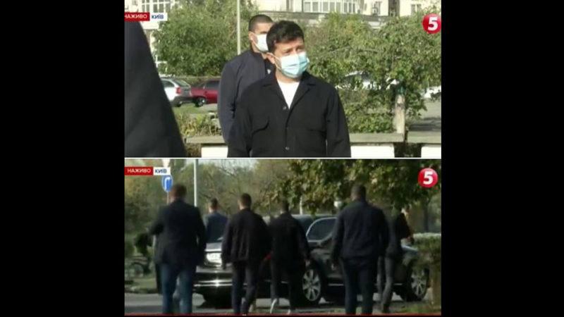 «Громадяни України просто хотіли задати йому питання, але він втік»