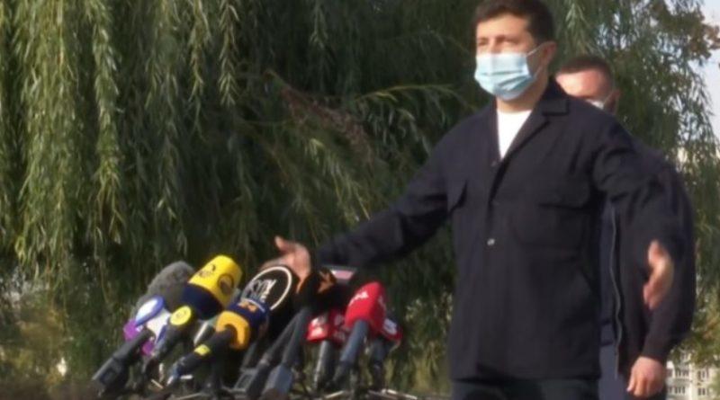Пресс-конференция Зеленского была сорвана через 3 минуты после начала. Президент ушел