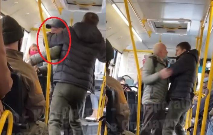 Ніхто навіть не заступився! У Києві водій викинув старенького дідуся з маршрутки (Відео)