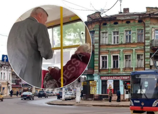 Закрий рот! Їдь до Львова чи Тернополя і там свисти!»: В Одесі пасажири трамвая накинулися на пенсіонерку з погрозами через українську мову (відео)