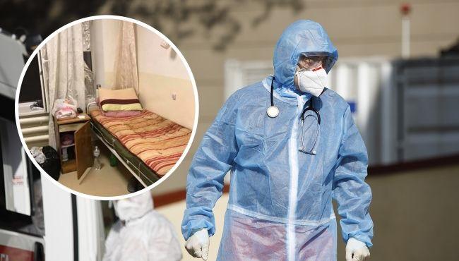 Врачи увольняются, а больные с COVID-19 лежат в холодных палатах!