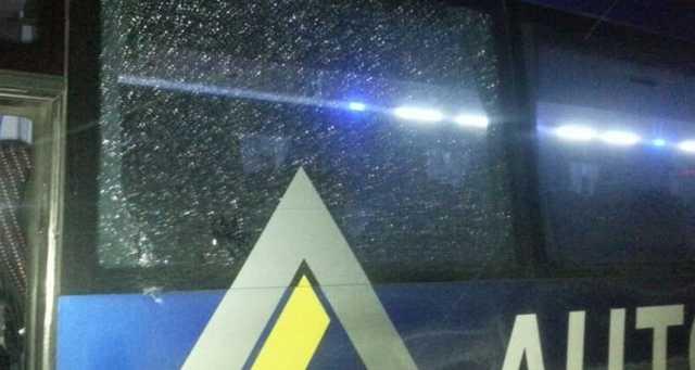 В Чернигове расстреляли автобус с пассажирами