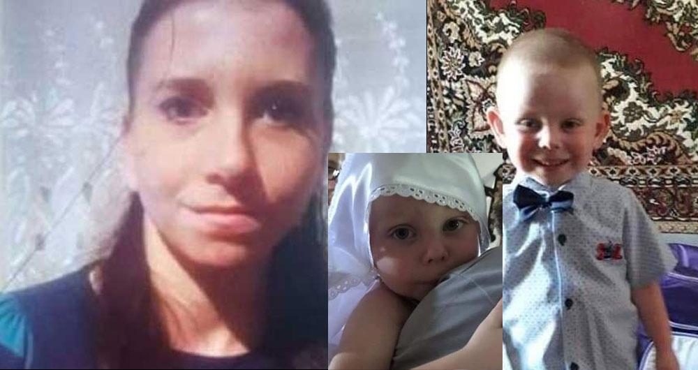 На Киевщине исчезла женщина с двумя маленькими детьми