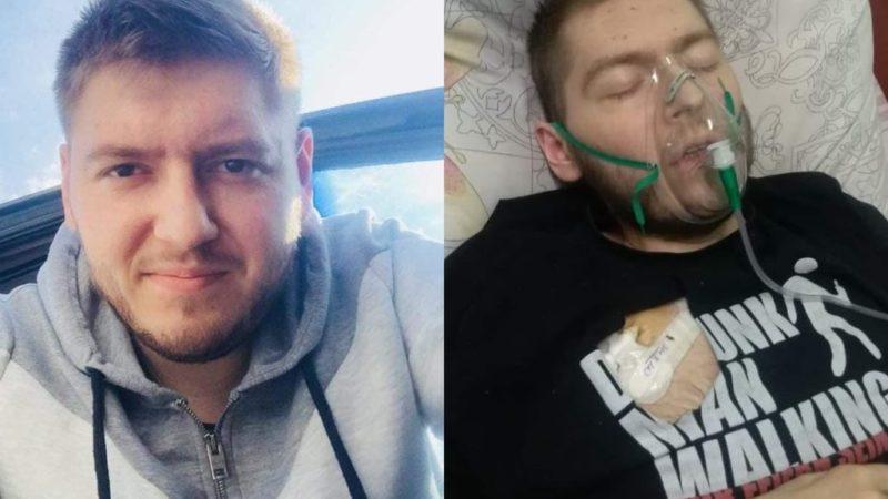 Стан Михайла критичний, він вже не дихає самостійно: рідні просять щирої молитви за життя хлопця