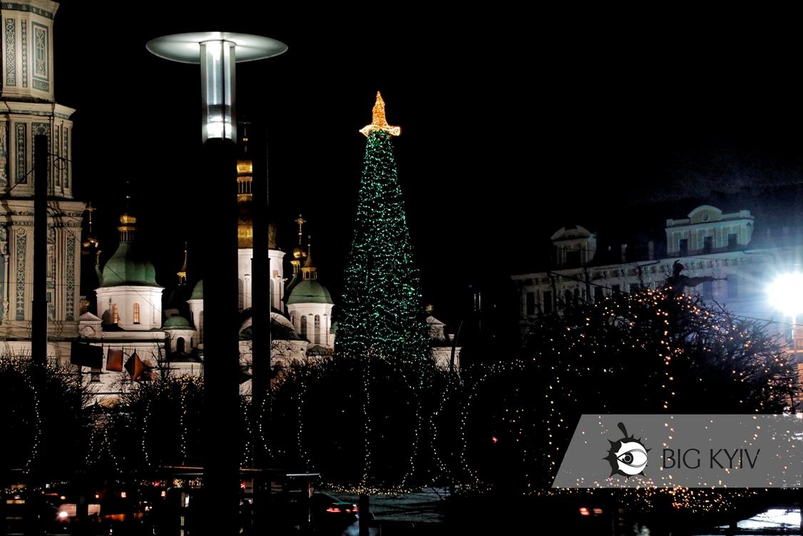 ЗЁЛКА: На главной елке страны засияла шляпа и появились совы (ФОТО)