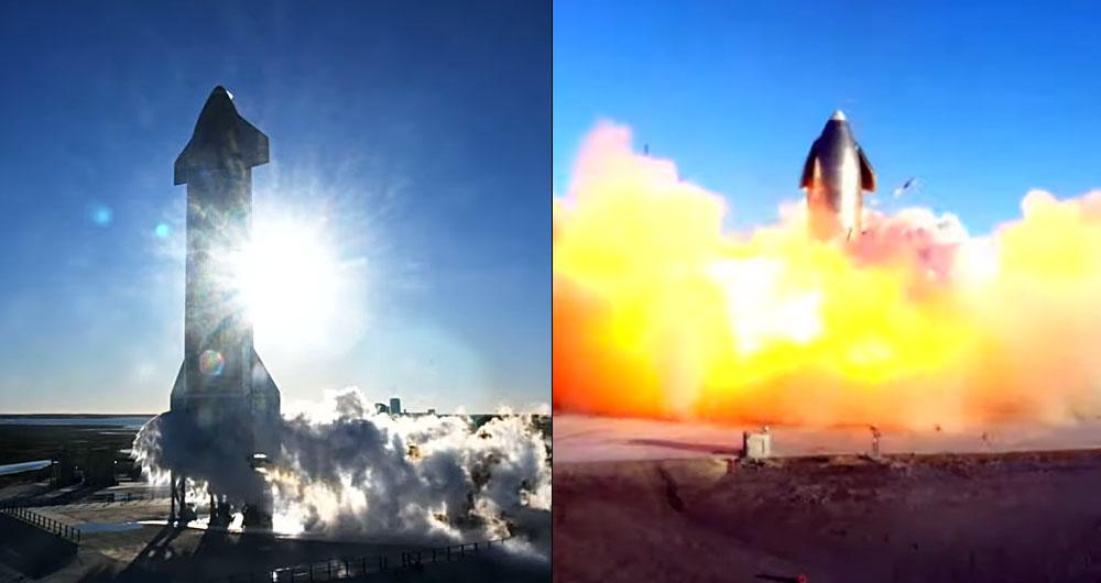 Ракета Starship Илона Маска взорвалась на испытаниях: видео