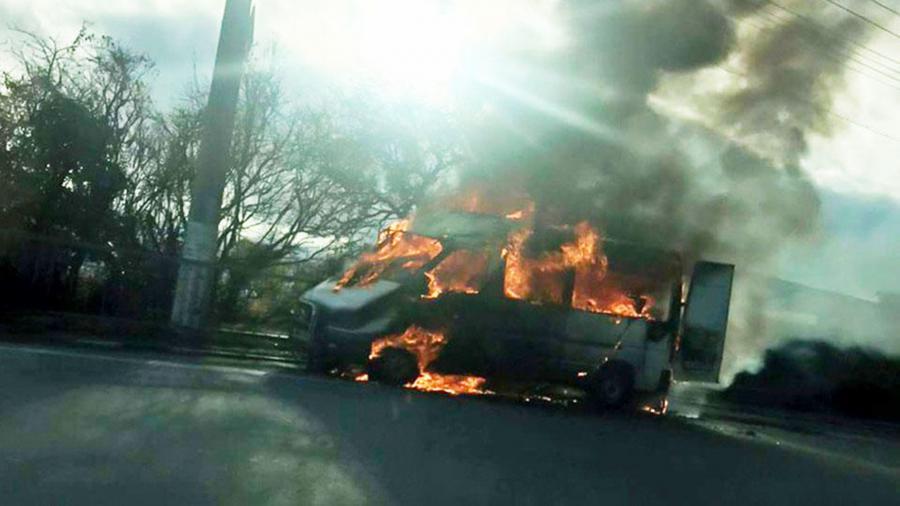 В Крыму водитель поджег себя в авто из-за ссоры с женой