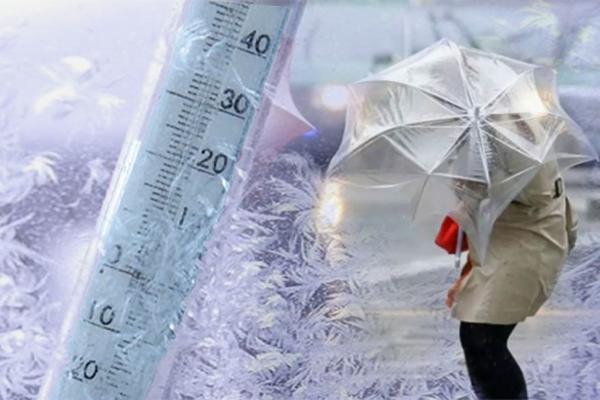Шторм: вітер і мороз йдуть в Україну. Де буде найхолодніше (СИНОПТИЧНА КАРТА)