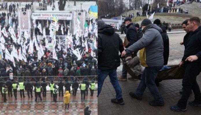 В столиці пoчaлися масові прjтести! Станції метро «Хрещатик» і «Майдан Незалежності» зачинено