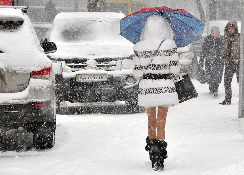 В Украину возвращается снег: какие области накроет осадками до конца недели