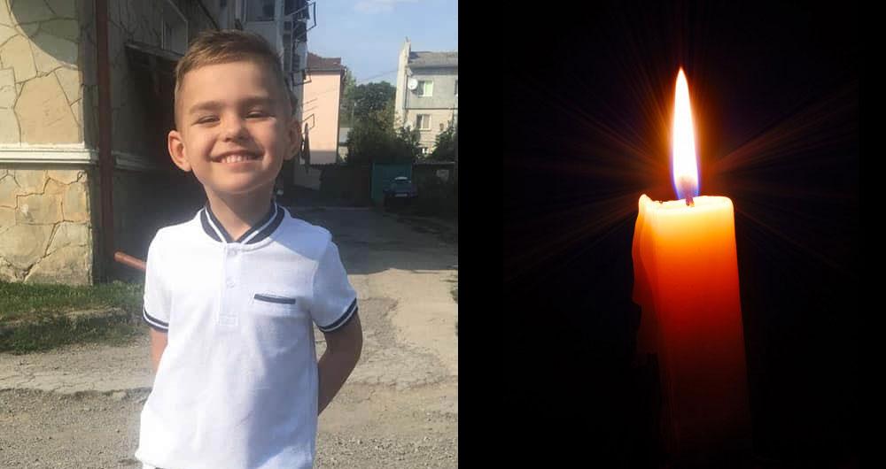 «Сьогодні наш Сашунічка став ангелятком «: відійшов у вічність п'ятирічний хлопчик з Чорткова, якому збирали допомогу