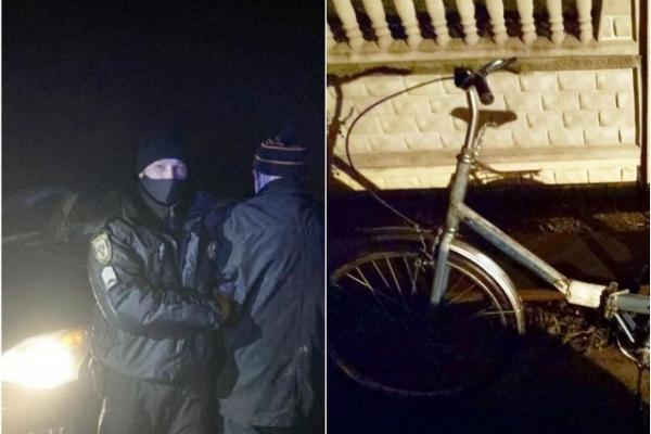 80-річний дідусь вкрав «Лексус» біля сільради, а замість нього лишив велосипед «Аіст»