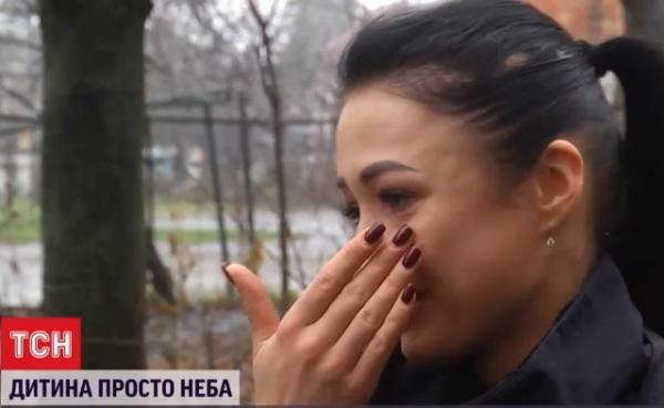 Патрульная не сдержала слез, когда рассказывала ТСН о девочке Альбине