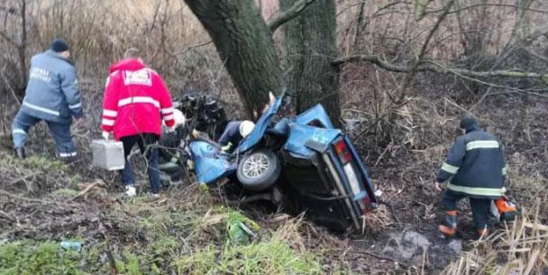 Автомобіль розтрощило, троє молодих людей загинуло: на Житомирщині сталась кривава ДТП