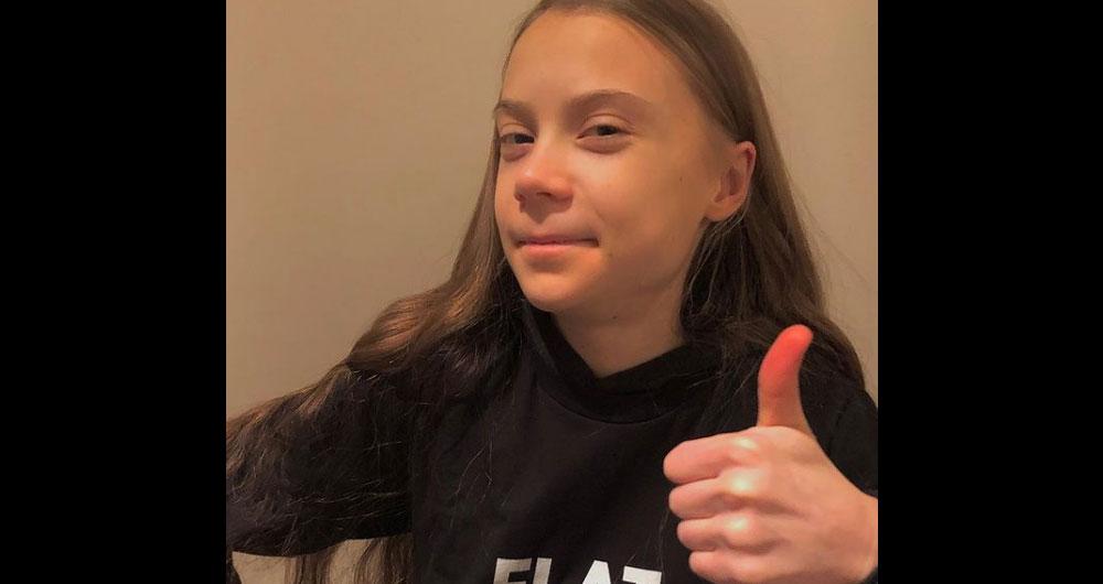 Грета Тунберг отпраздновала 18-летие в пабе