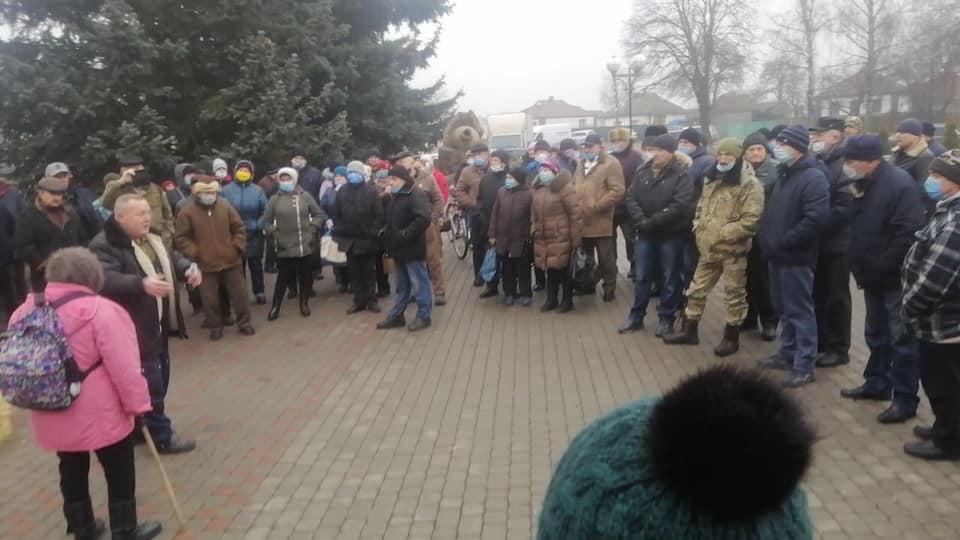 Слідом за Лубнами повстають інші українські міста — люди просять підтримки. НІ підвищенню тарифів!