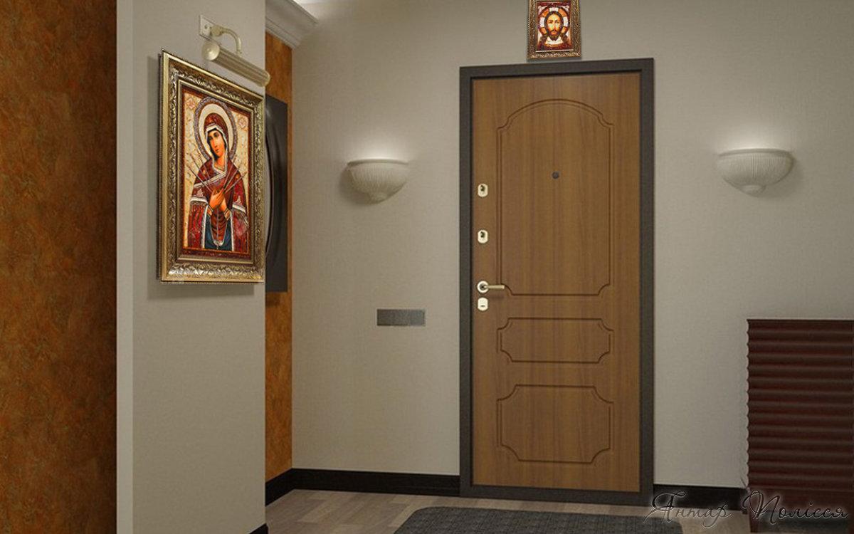 Какую икону надо повесить над входной дверью
