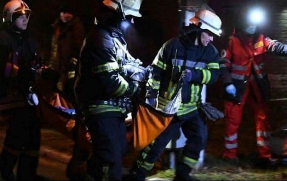 В реанимационной палате в Запорожье вспыхнул пожар, 4 человека погибли