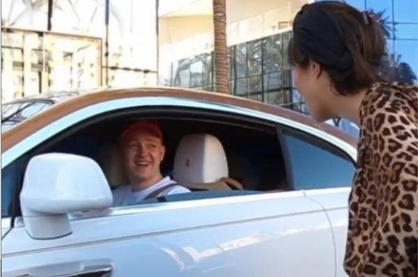 22-річний українець на шикарному авто в Дубаї вразив світ: звідки такі гроші? (ВІДЕО)