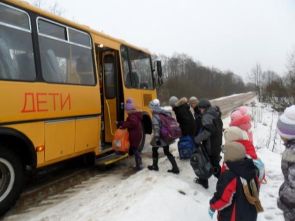 5-річну дівчинку в мороз висадили у лісосмузі зі шкільного автобуса