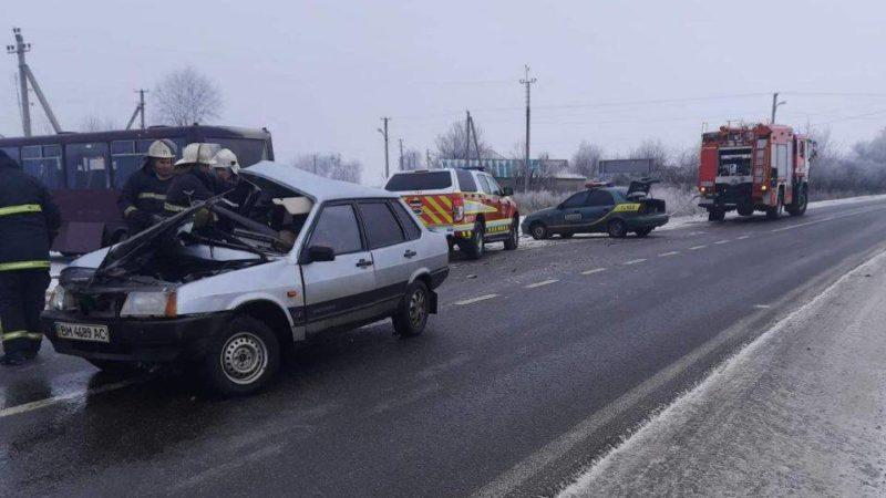 Под Харьковом — авария с пассажирским автобусом, есть погибшие