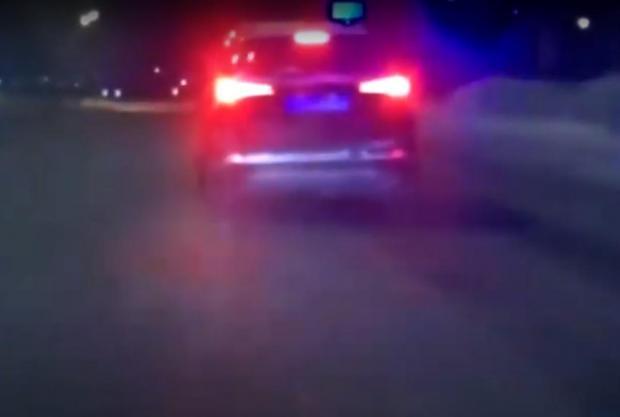 П'яний 13-річний школяр на автомобілі матері влаштував перегони з поліцією (відео)