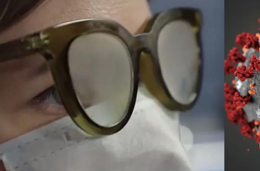 Ученые объяснили, почему люди в очках реже заражаются COVID-19