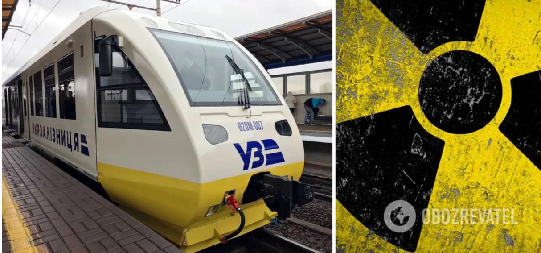 Пасажир «Укрзалізниці» заявив, що радіація у вагоні перевищила норму в 32 рази, його висадили