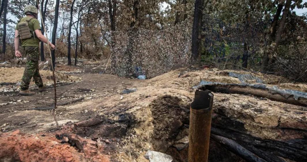 На Донбасі в бліндажі згоріли бійці ЗСУ: один воїн помер у лікарні, тіла двох знайшли на місці пожежі. Фото