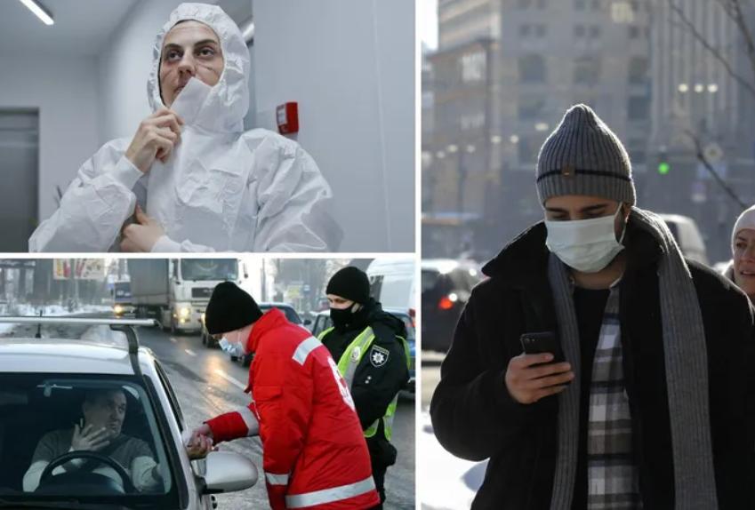 В Украине более 3000 зараженных коронавирусом попали в больницы за сутки