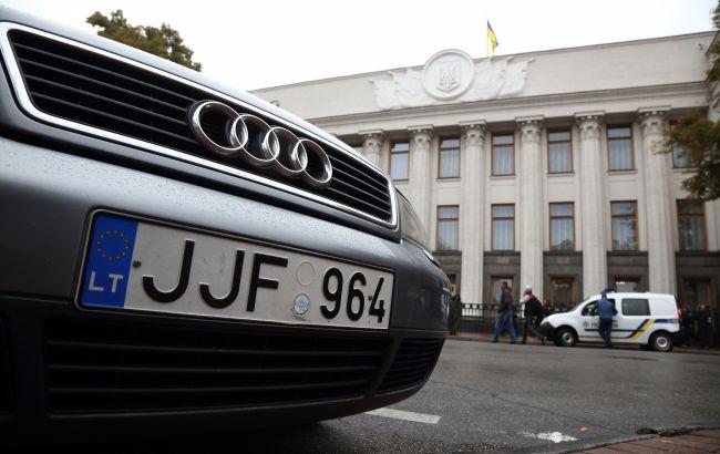 Растаможка «евроблях» за 1000 евро: водителям готовят настоящий подарок