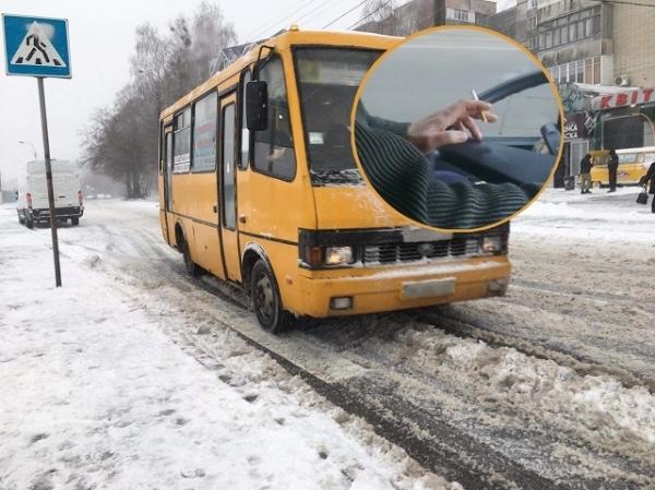 «Палять в салоні, на зауваження не реагують»: пасажири скаржаться на водіїв маршруток (ВІДЕО)