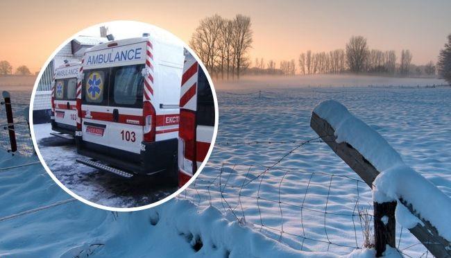 Под Житомиром в поле замерз 17-летний парень