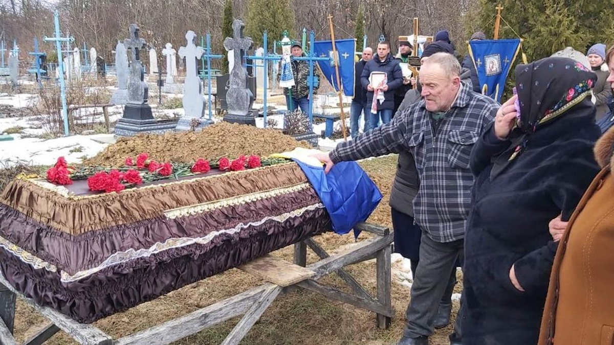 На Вінниччині поховали загиблого на Донбасі українського бійця