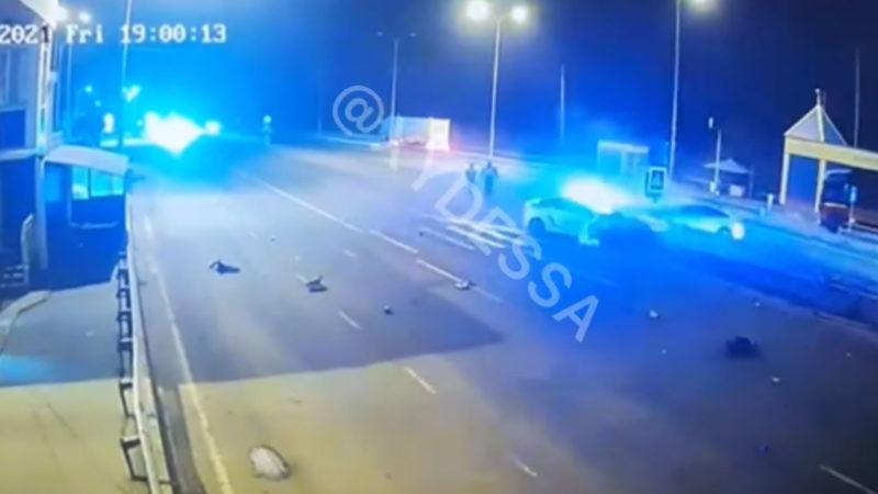 Включили спецсигналы после аварии: В Одессе копы спровоцировали смертельное ДТП. Видео