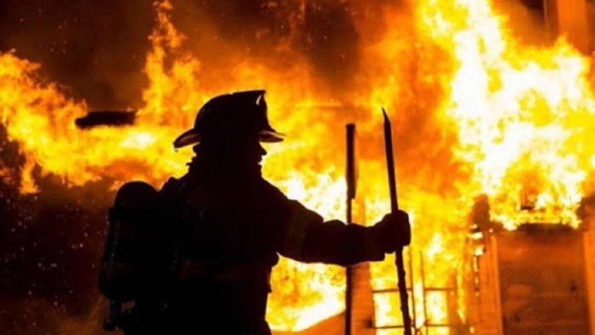 В Киеве горела баня: в пожаре погибли 3 человека