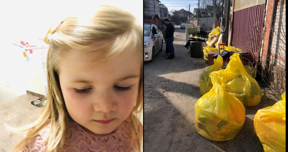 В Киеве женщина выкинула на улицу родную сестру с несовершеннолетними племянницами из родительского дома