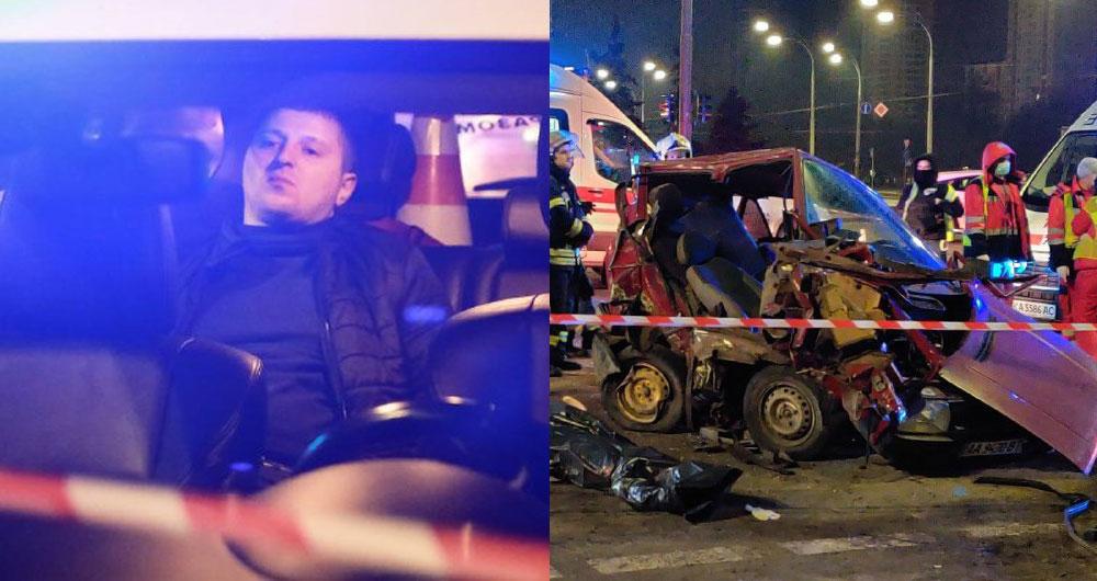 Вот это пьяное тело устроило смертельное ДТП в Киеве. Погиб мужчина с ребенком (фото, видео)