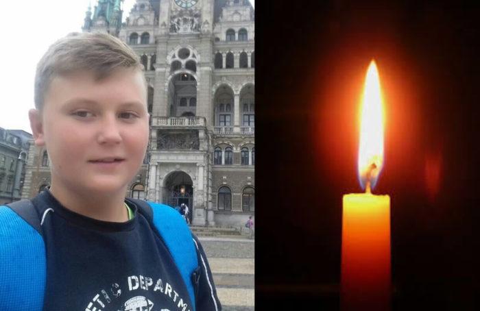 Три тижні він боровся за життя, йому було тільки 14 років, вчора його не стало