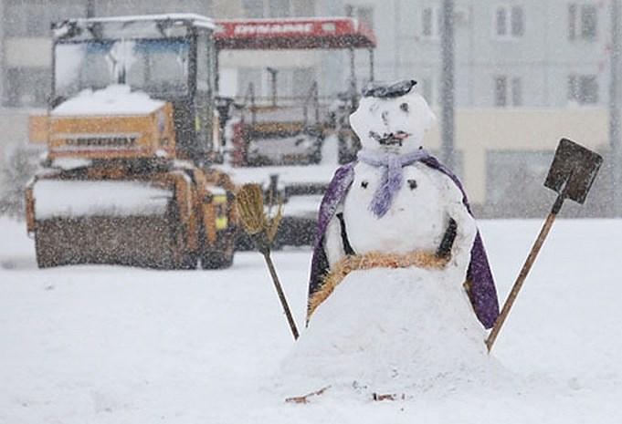 В Украину и Киевскую область идут снегопады и резкое понижение температуры воздуха до -5