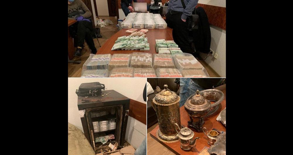 НАБУ обнаружило тайное хранилище наличных денег главы Окружного админсуда Киева Павла Вовка