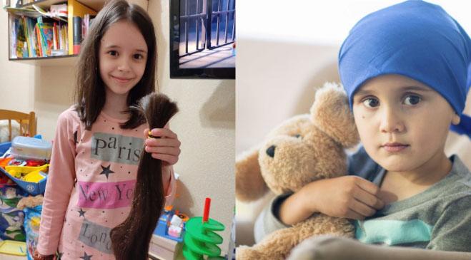 Маленька рівнянка віддасть своє розкішне волосся онкохворим діткам (ФОТО)