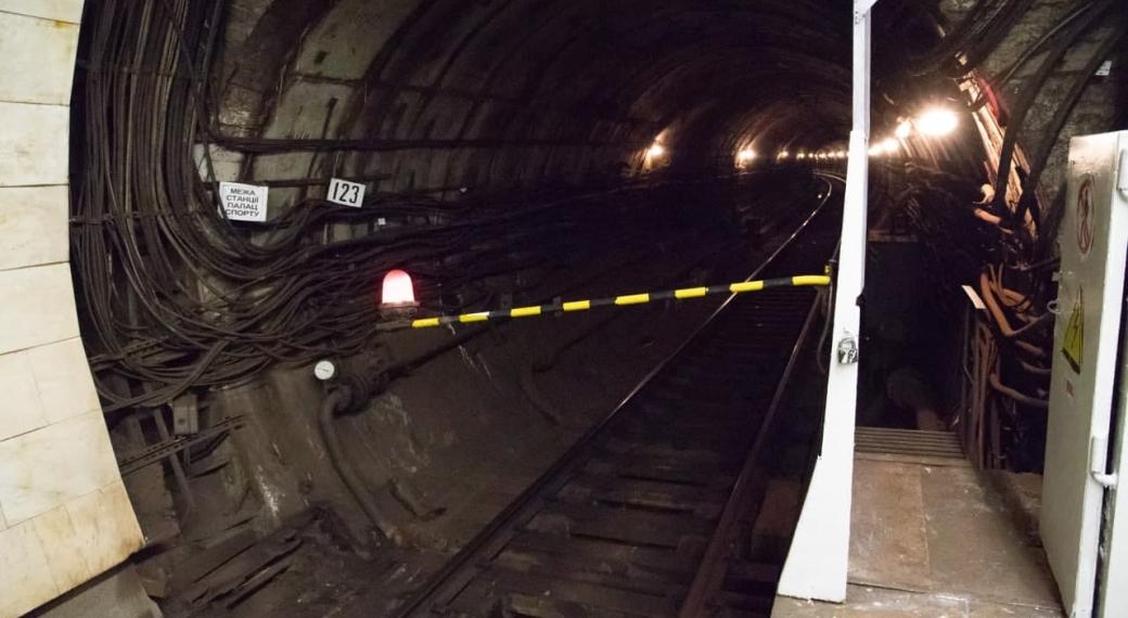 В Киеве пассажир попал под поезд на станции метро «Арсенальная» в Киеве