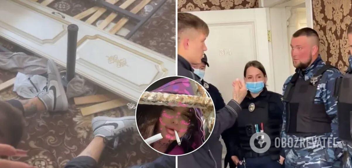В Instagram забанено акаунт блогерки, яка влаштувала погром у готелі: «Я кинуся з моста!»